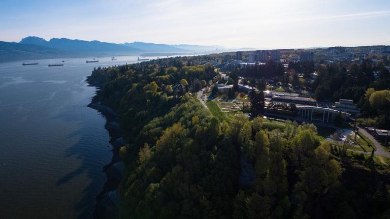 UBC Vancouver Campus Credit: Geoff Lister & Chris Borchert