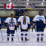Thunderbird Women's Ice Hockey team Credit: Rich Lam